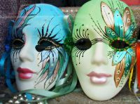 Colorful Mardi Gras masks in New Orleans, La. | design ...