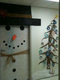 snowman door decorations - 28 images - 53 classroom door ...
