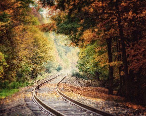 landscape train tracks