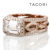 Rose Gold Ring: Rose Gold Ring Tacori