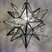 Quintana Roo 9640 Glass Moravian Star Pendant