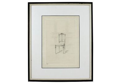 Kings Chair Drawing