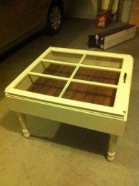 Antique Window Coffee Table
