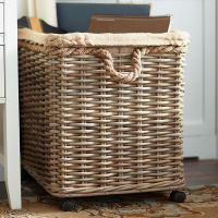 Portable Storage Basket on Wheels