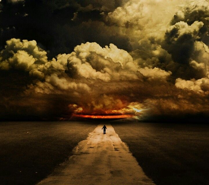 Wanders alone