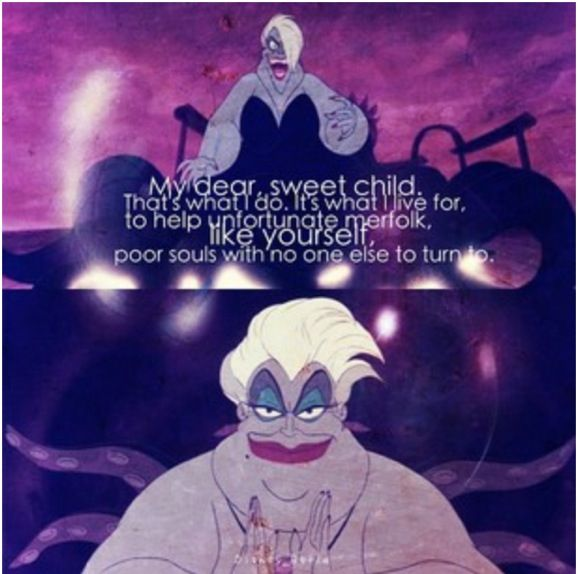 Disney Villains Quotes Ursula