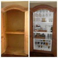 repurposed TV cabinet!   Repurposed   Pinterest