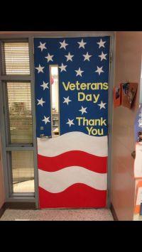 Veterans Day Door Decoration | Bulletin Boards & Doors ...