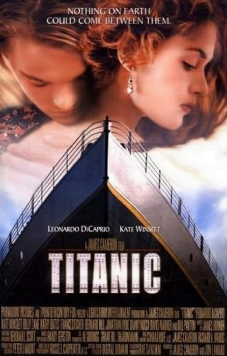 Titanic (1997) A seventeen-year-old aristocrat, expecting to be married to a rich claimant by her mother, falls in love with a kind but poor artist aboard the luxurious, ill-fated R.M.S. Titanic.