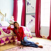 お宅拝見:セルビーのサイトから。ベッドリネンのお店のデザイナーさんのベッドだらけの部屋