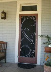Susan Wallace decorative screen door | Dream Home | Pinterest