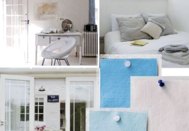 White And Pale Blue Children S Bedroom Housetohome