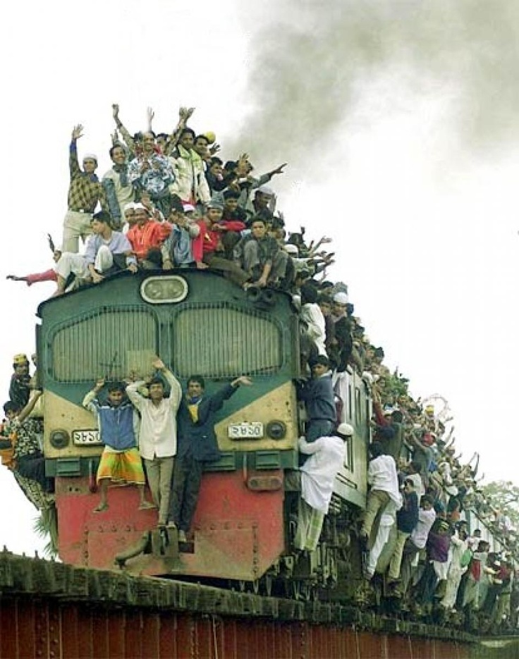 Stay safe on an Indian train journey ....