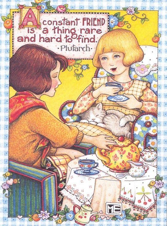 Mary Engelbreit Friendship Quotes Quotesgram