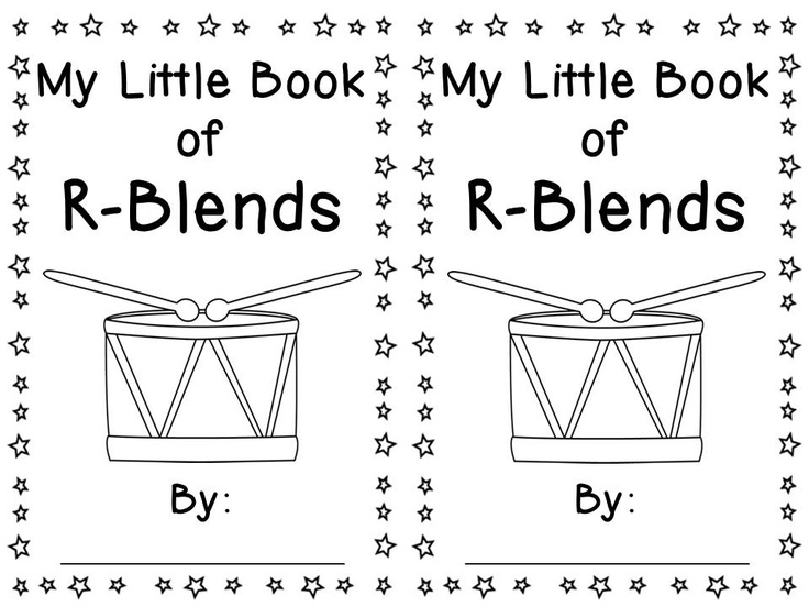 My Little Book of R-Blends