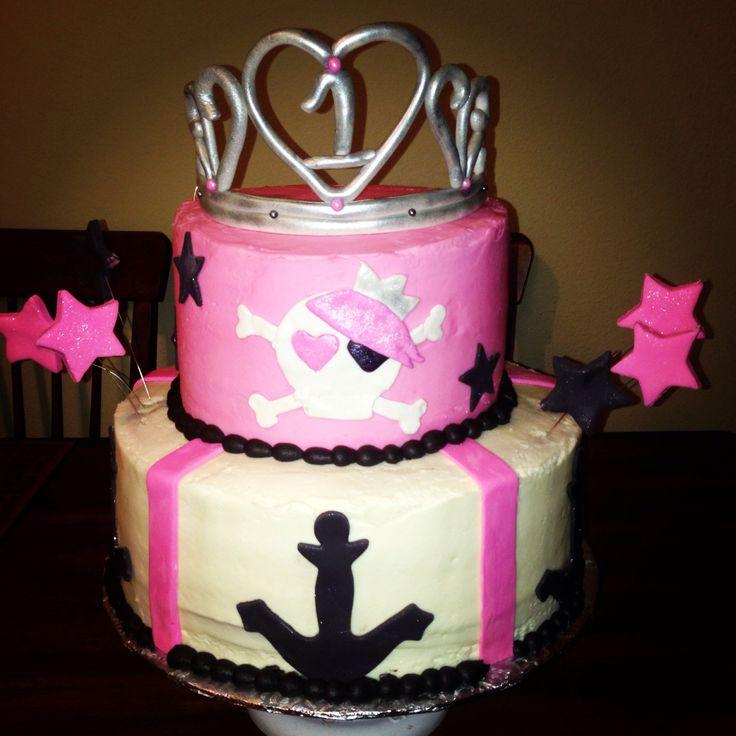 Pin Princess Pirate Ship Cake On Pinterest