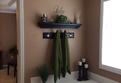 Bathroom Wall Decor Pinterest