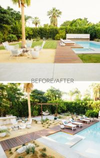 Backyard Makeover Before And After - Ztil News