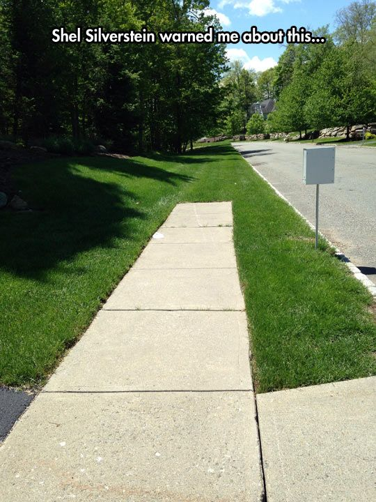 The Place Where The Sidewalk Ends