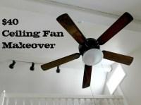 Excellent ceiling fan update! | DIY- House | Pinterest