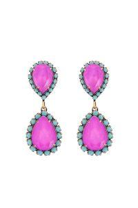 ABBA EARRINGS IN ELECTRIC/TURQ - Loren Hope | Jewelry ...