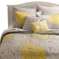 yellow and grey bedding target | Yellow and Grey Bedding ...