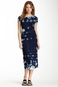 Calf Length Shirt Dress | self-decorate | Pinterest
