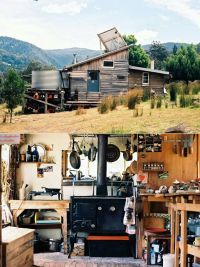 Off the grid cabin | New | Pinterest