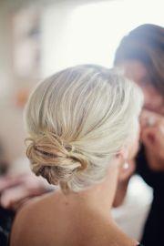 maid of honor hair nails