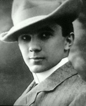 Bela Lugosi en 1900, a los 18 años