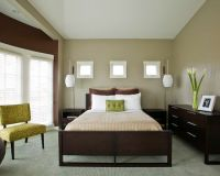 wall color for green carpet in bedroom | Paint | Pinterest