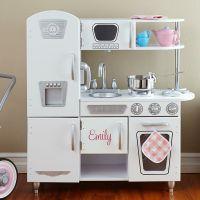 Sofa, furniture, kitchen: Kidkraft pink vintage kitchen