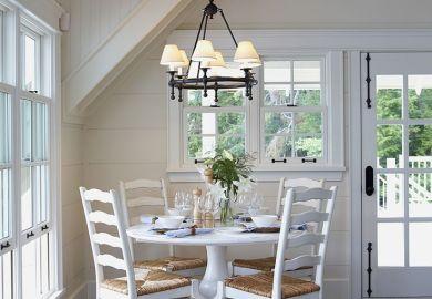 Dark Wood Dining Room Table