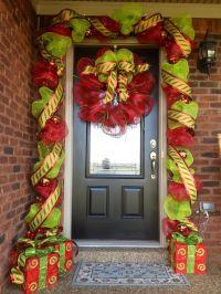 Christmas Deco Mesh Garland and Wreath | Poly Deco Mesh ...