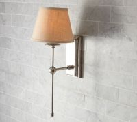 Pottery Barn sconce | Light The Way | Pinterest