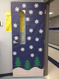 Winter Classroom Door Decorating Ideas