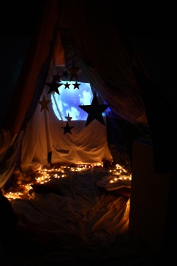 seeing stars through your fort