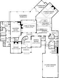 French country floor plan | Future Home Idea's | Pinterest