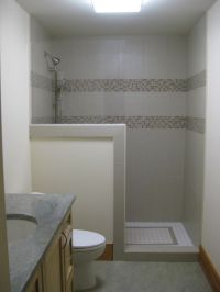 Walk In Shower Designs No Door