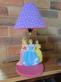 Disney Princess lamp for girls | Kids lamps | Pinterest