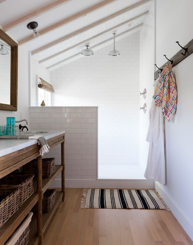 Get the look of this country bathroom with essentials from @Home Depot!