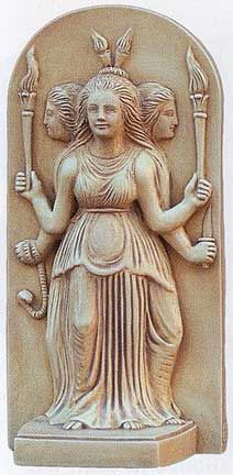 Hecate / Greek Triple Goddess Primordial Goddess