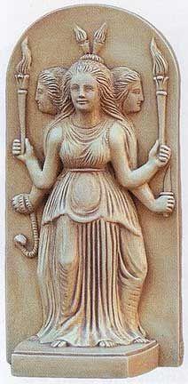 Hecate / Greek Triple Goddess Primordial Goddess