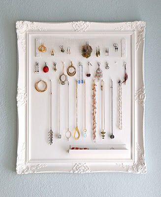 25 Beautiful DIY Ways to Store Jewelry