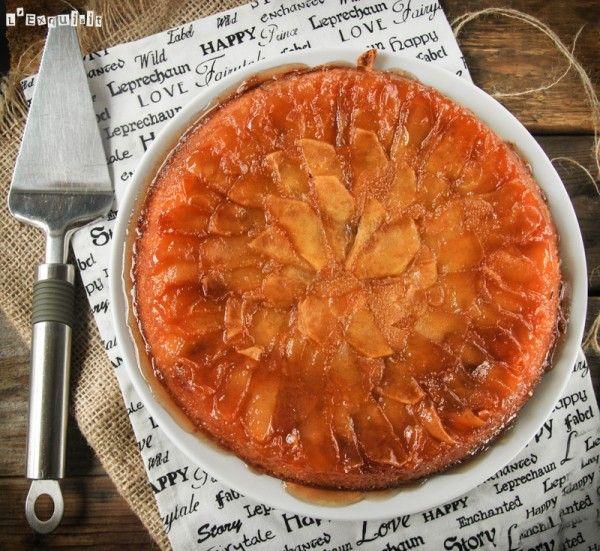 La clásica tarta tatin suele estar preparada con masa quebrada o masa de hojaldre…en la receta de hoy la masa utilizada es tipo bizcocho, quedando éste húmedo y caramelizado…se sirve templada y es una autentica delicia… Y si no te … Sigue leyendo →