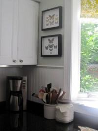 Beadboard backsplash. | If I could redecorate my whole ...