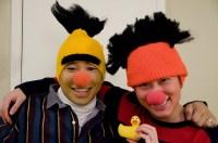 Homemade Bert and Ernie Costume   Halloween HalloSCREAM ...