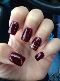 Nails burgundy fall   Nails   Pinterest