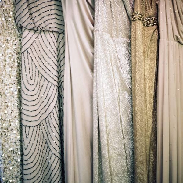 Beautiful bridesmaid dresses.