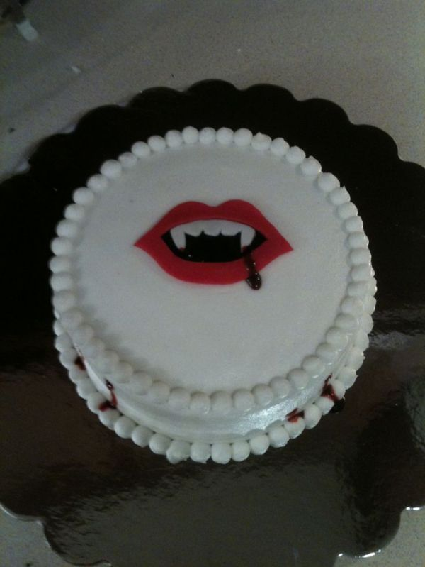 vampire cake Birthdays Pinterest